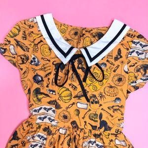 BonneChance Collections Halloween Dress!🖤🦇🧡